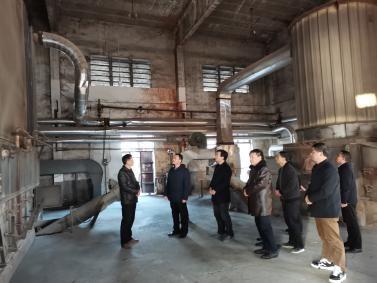 吉安市领导组莅临金安林产视察安全生产工作